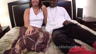 Amateur Milf Does her First Interracial Mature Movie
