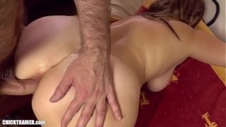 Britney chokes on a mouthful of cum shot right down her throat. Amateur Ass-to-Mouth Deepthroat Gagging. Spitters are quitters, but this was an accident! Big tits anal homemade amateur porn.