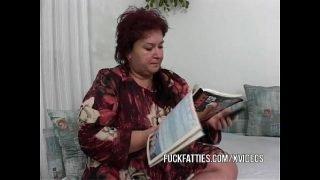 Fat Mature Calls Two Young Escort Girls