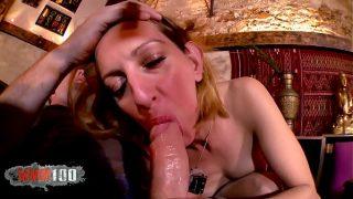 Hot french Mature Louise du Lac hard anal fucking xxx