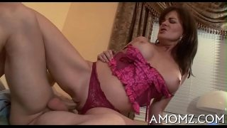 Hot mature mom groans with unfathomable fucking