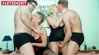 LETSDOEIT – German Matures Share Their Hubbies Cocks