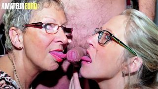 Lucky Guy Gets To Fuck At Her Tailors Office With Two Sexy Mature Ladies