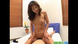 Mature Kyoko fucked by younger lad