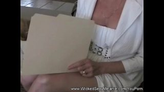mature Mom Gives Student Sex Lessons