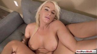 Mature sperm lover stepmom wants stepsons big cock
