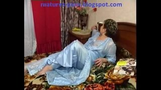 Russian mature Offers her first Anal