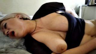 Sweet Milf Hot Orgasm: Fuck, Lovens & Nipple Torment… Not a Woman, but a Goddess!