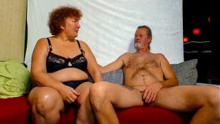 XXX OMAS – Dirty German granny gets her horny mature pussy fucked
